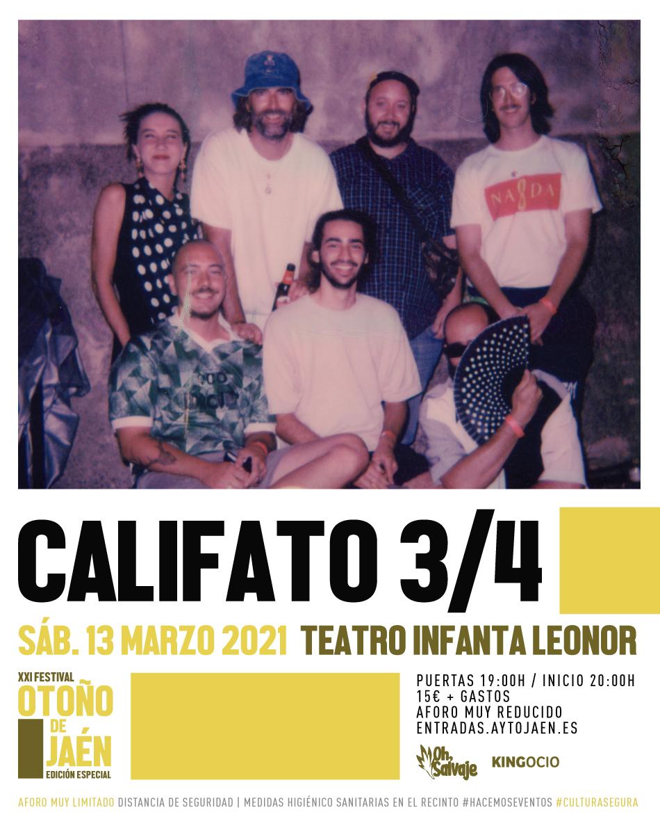 Califato 3/4 Festival Otoño Jaen Oh Salvaje
