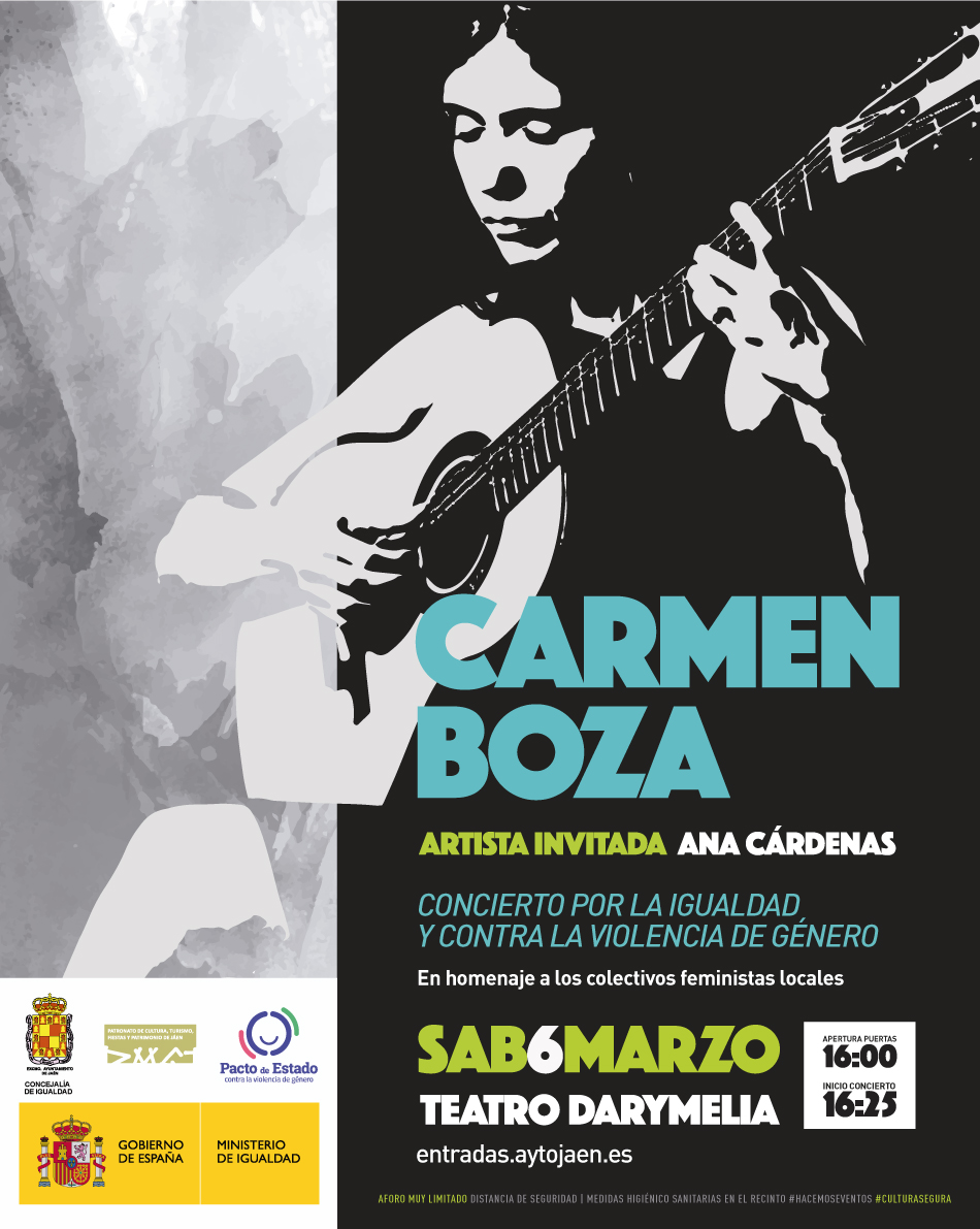 Carmen Boza concierto igualdad colectivo feminista Jaén Oh Salvaje