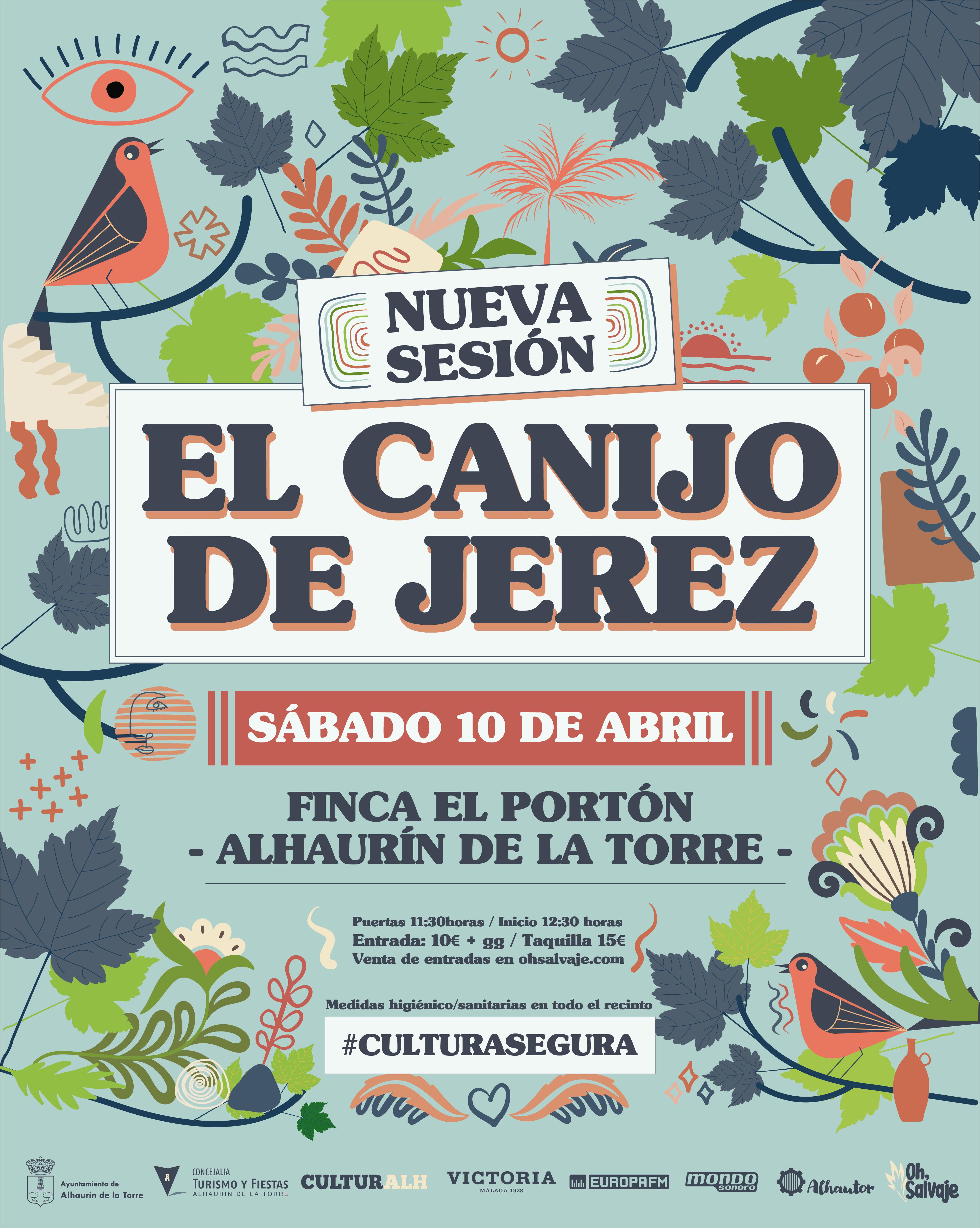 El Canijo de Jerez Nueva sesion Alhaurin Oh Salvaje