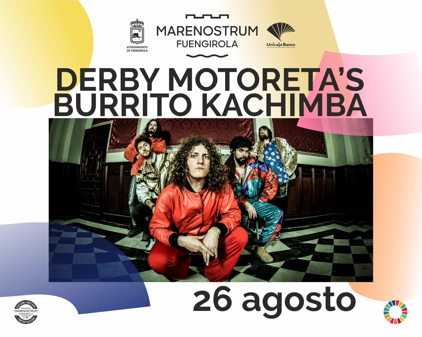 Derby Motoretas Burrito Kachimba Oh Salvaje Marenostrum