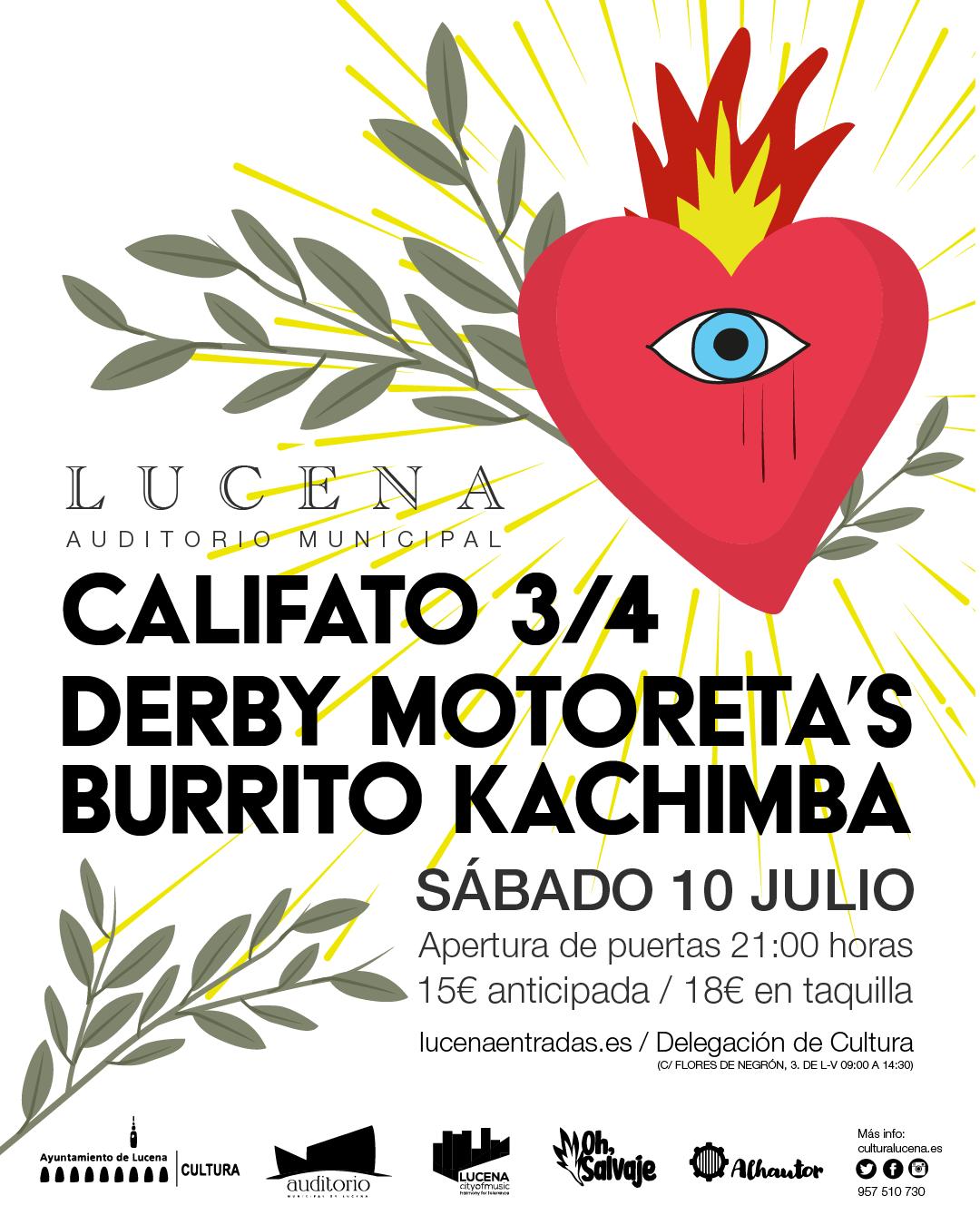 Califato Derby Motoreta Burrito Kachimba Oh Salvaje Lucena